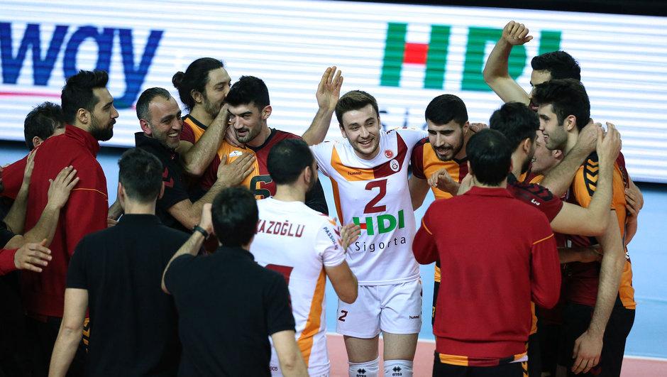 Galatasaray HDI Sigorta: 3 - Maccabi Tel Aviv: 0