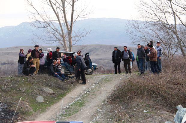 Amasya'da tarlaya çalışmaya giden bir kişi yanmış halde bulundu