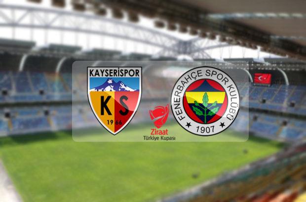 Kayserispor Fenerbahçe hangi kanalda, saat kaçta?