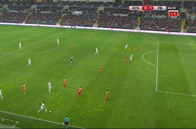 Kayserispor - Fenerbahçe maçında Fernandao'nın attığı gol olay yarattı
