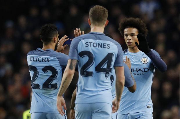 Manchester City: 5 - Huddersfield: 1