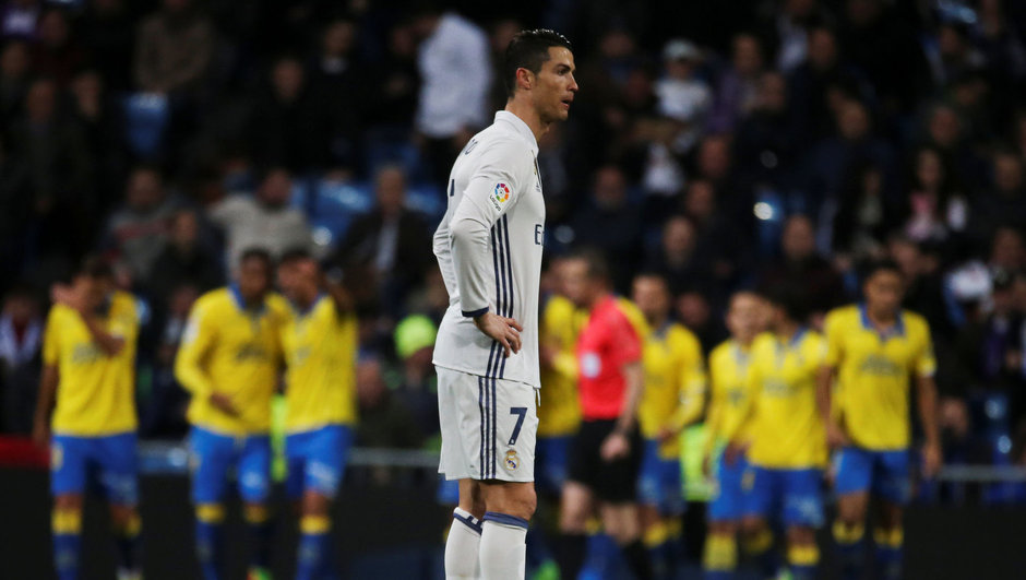 Real Madrid: 3 - Las Palmas: 3