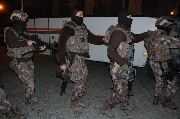 SONDAKİKA! Şişli'de dernek binasına terör operasyonu