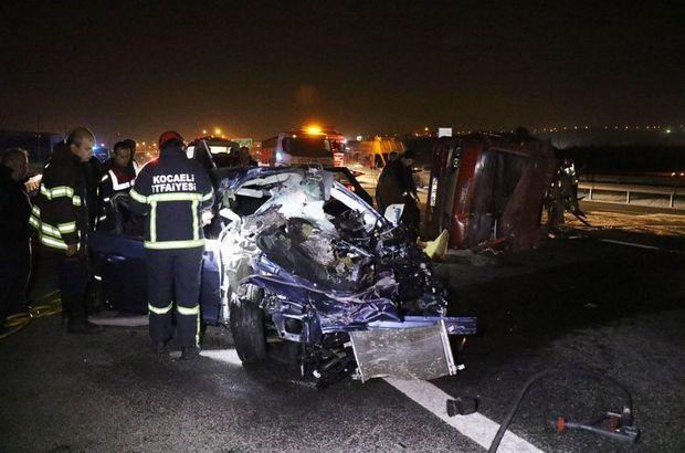 Alkollü sürücü TEM'de 200 kilometre hızla dehşet saçtı
