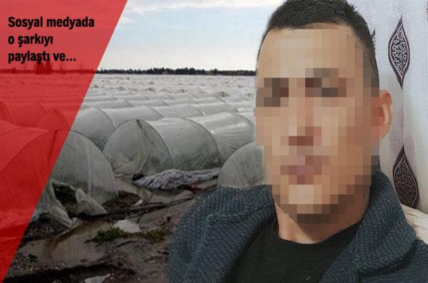 Mersin'de selzede çiftçi yaşamına son verdi