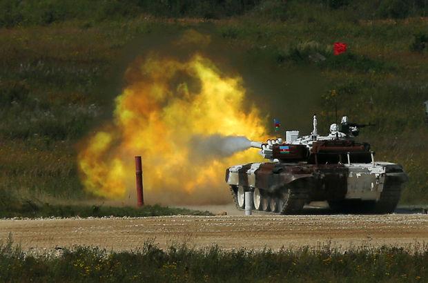 Azerbaycan, Ermenistan ordusuna ait mevzileri vurdu