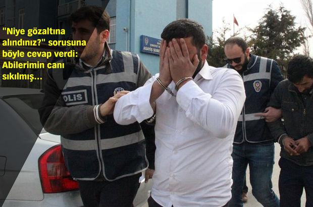 Konya'da hırsızlık şüphelisi gazetecilere hangi kanalda çıkacağını sordu