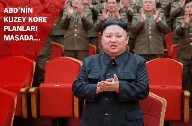 ABD'nin Kuzey Kore planları masada: 'Rejimi değiştirmek için askeri müdahale!'