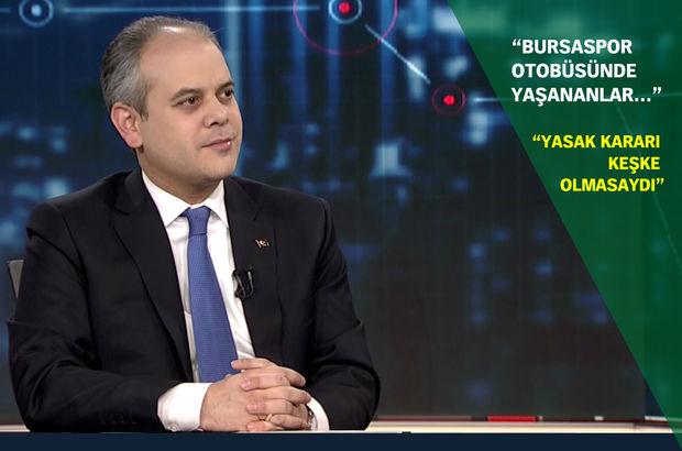 Gençlik ve Spor Bakanı Akif Çağatay Kılıç: Türkiye'nin EURO 2024 için hiçbir eksiği yok