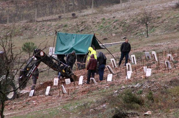 Mersin'deki sel felaketinde kaybolan Sultan Uncu'nun cenazesi kimsesiz mezarlığından çıkarıldı