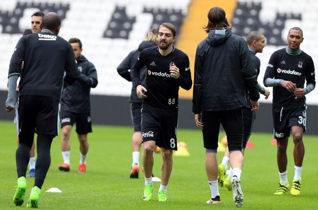 Beşiktaş Caner Erkin Demba Ba antrenman