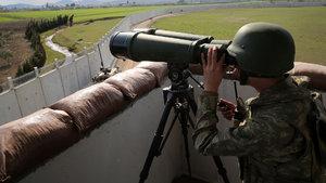 TSK Suriye sınırında kuş uçurtmuyor!