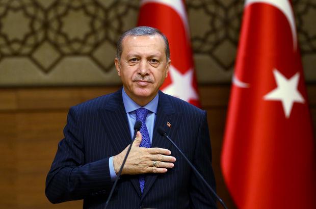 Cumhurbaşkanı Erdoğan, Yıldırım ve Hakan Fidan'ı kabul etti