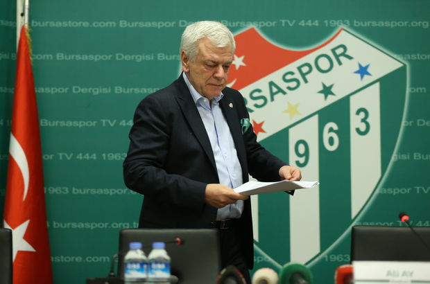 Bursaspor Kulübü Başkanı Ali Ay: