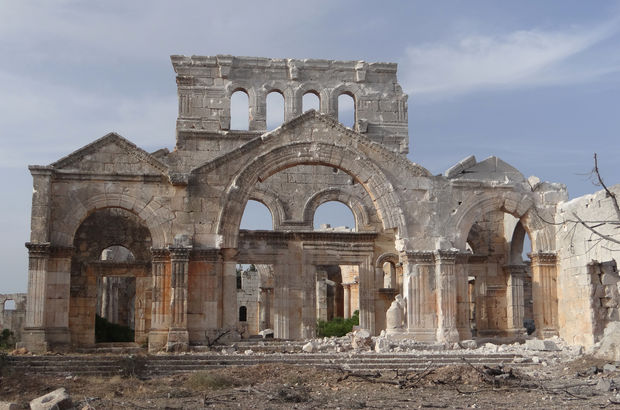 Palmira antik kenti DEAŞ'tan kurtarıldı