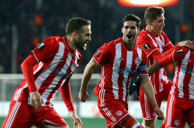 Olympiakos kupada yarı finale yükseldi