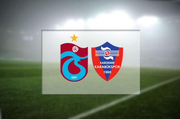 Trabzonspor - Kardemir Karabükspor maçı hangi kanalda, saat kaçta, ne zaman?