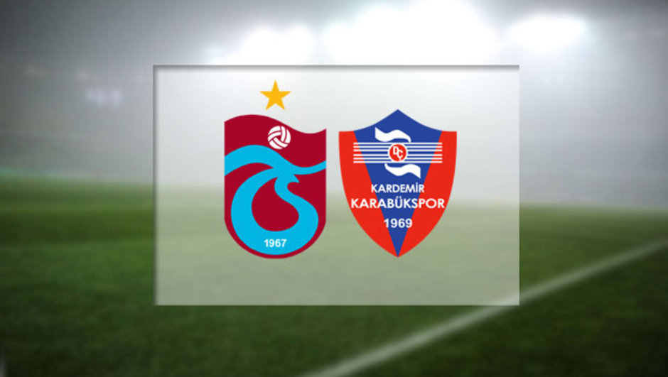 Trabzonsrpo - Kardemir Karabükspor