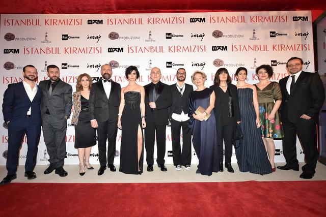 'İstanbul Kırmızısı'na görkemli gala