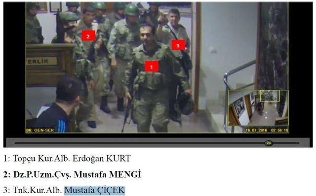 15 Temmuz Darbe Girişimi iddianamesinden yeni görüntüler