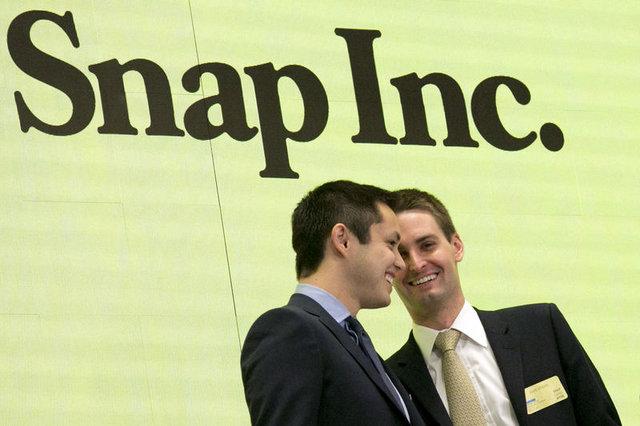 Evan Spiegel 26 yaşında milyarder oldu