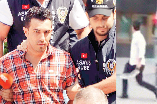 Gezi'nin 'palalı'sı bu kez hapisten kaçamadı!