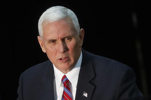ABD Başkan Yardımcısı Mike Pence'in yazışmaları ortaya çıktı
