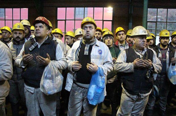 Zonguldak'ta grizu faciasında ölen 263 madenci dualarla anıldı