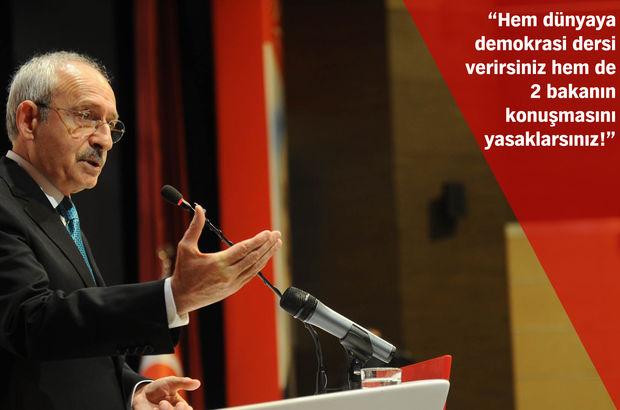 CHP lideri Kemal Kılıçdaroğlu'ndan Almanya'da Bekir Bozdağ eleştirisi