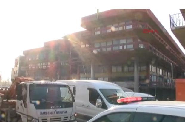 Bayrampaşa'da sanayi sitesinde şüpheli paket alarmı