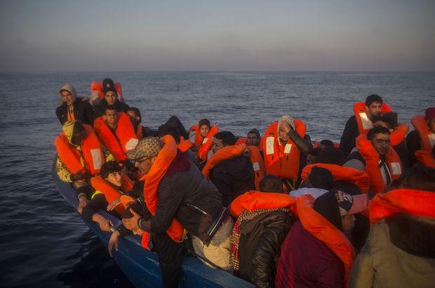 Libya açıklarında yaklaşık 1000 göçmen kurtarıldı