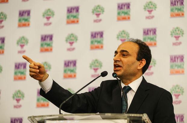 HDP'li Osman Baydemir: Siyasetçi, dilediği yerde, dilediği fikrini ifade edebilmeli