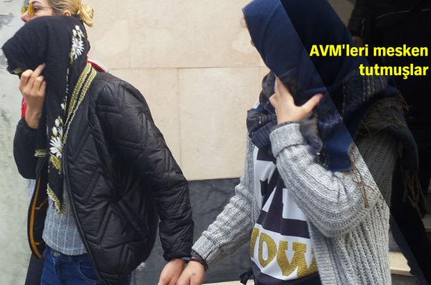 İstanbul'da AVM'leri mesken edinen yankesicilik şebekeleri çökertildi