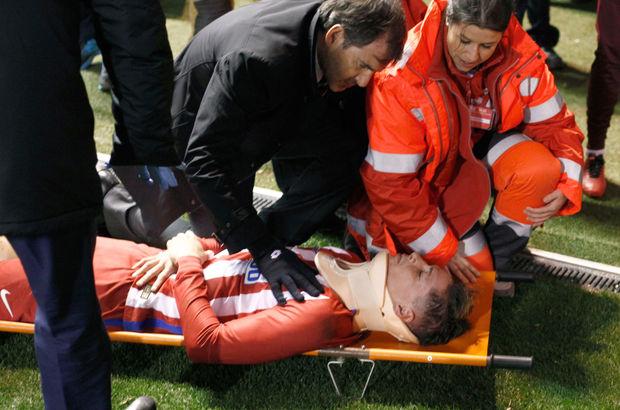 Atletico Madrid'in golcüsü Fernando Torres taburcu oldu