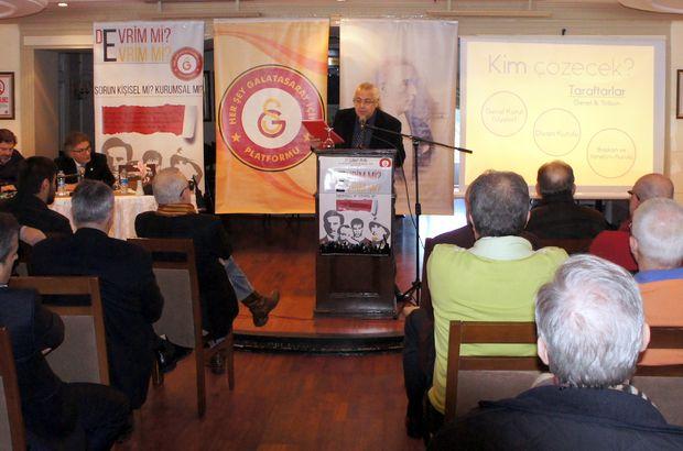 Galatasaraylılar Platformu hayata geçiyor!