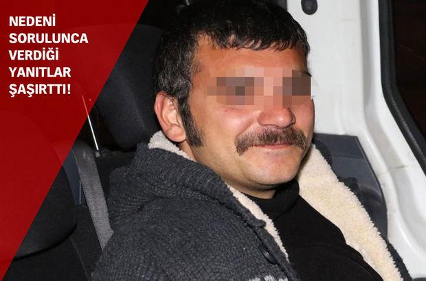 Antalya'da bir kişi otomobille girdiği banka şubesini yakmak isterken yakalandı