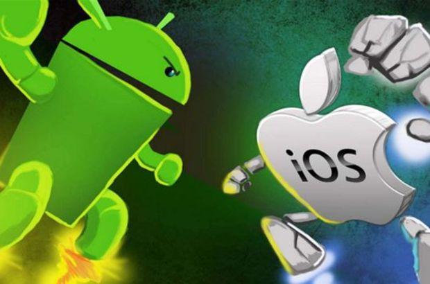 Android telefonların daha sorunsuz olduğu açıklandı
