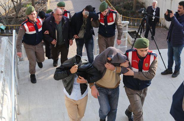 NATO hattından 40 ton mazot çaldıkları iddiasıyla 6 kişi gözaltında
