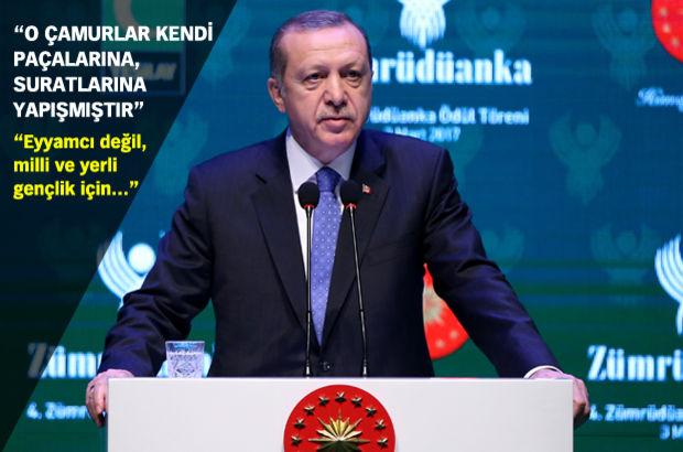 Cumhurbaşkanı Erdoğan Bunlar teröre yardım ve yataklıktan yargılanmalı