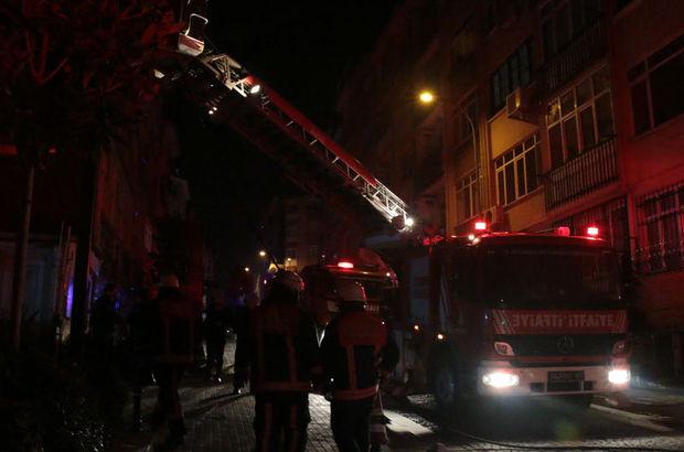İstanbul Kadıköy yangın