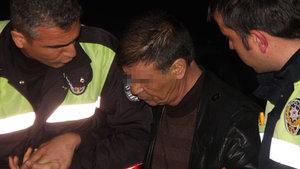 Elazığ'da uslanmayan alkollü sürücü, kaza yaptı