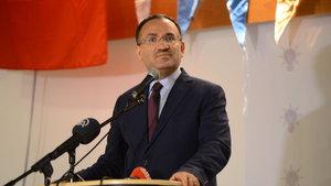 Bekir Bozdağ: Ben de Almanya Adalet Bakanı ile görüşmeyi iptal ettim
