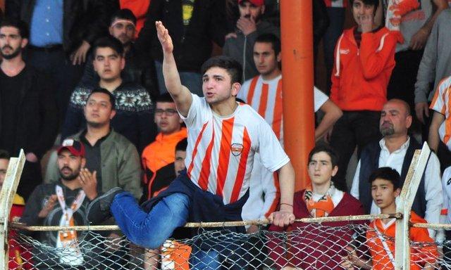 Adanaspor - Konyaspor maçında olaylar çıktı