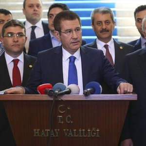Nurettin Canikli'den Hatay'da düşen savaş uçağı açıklaması