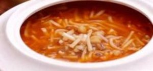 Bacaklı çorba tarifi
