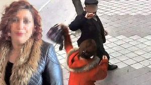 """Niğde'de kendisini takip eden adamı çantayla dövdü, """"Şikayetçi değilim"""" dedi"""