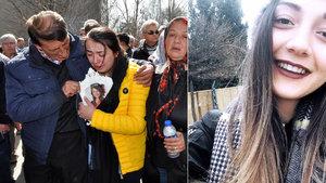 Bartın'da kazada ölen üniversiteli Burcu Duran toprağa verildi