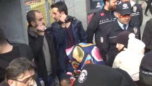 Vatan Caddesi'ndeki protestoya çok sayıda gözaltı