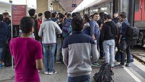 Macaristan'da sığınmacılara şiddet iddiası