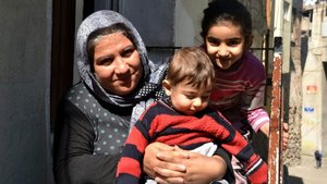 Eşi ve iki oğlu Botan Çayı'nda boğulan kadının dramı